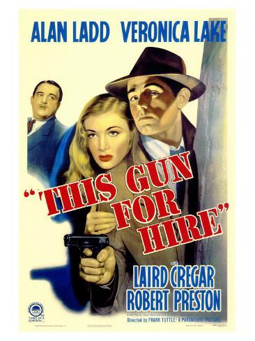 This Gun For Hire, 1942 Art Print