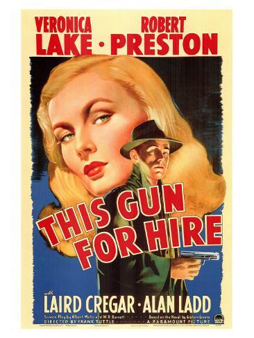 This Gun For Hire, 1942 Art Print