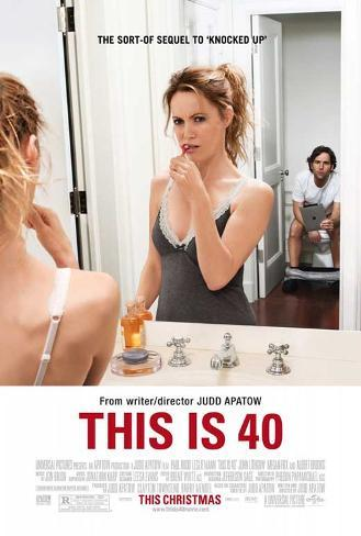 This Is 40 Movie Poster Poster