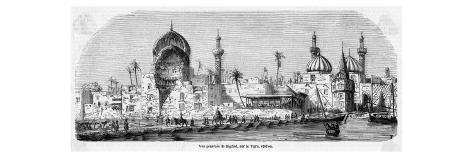 This Is How Baghdad Used to Look as You Sailed Up the Tigris Giclee Print