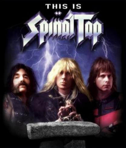 This Is Spinal Tap Movie Poster Nytryckt poster