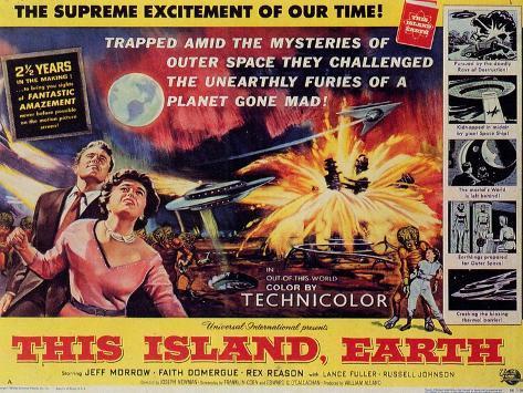 This Island Earth, 1954 Impressão artística