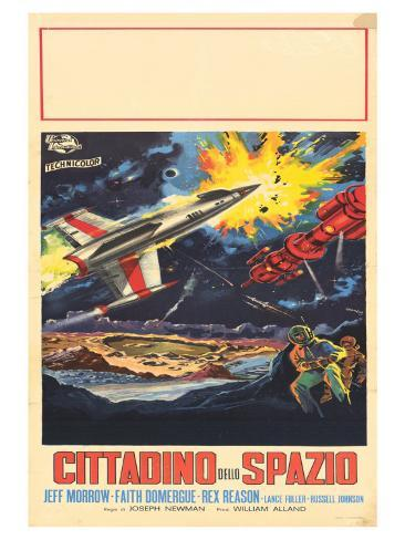 This Island Earth, Italian Movie Poster, 1954 Stampa artistica