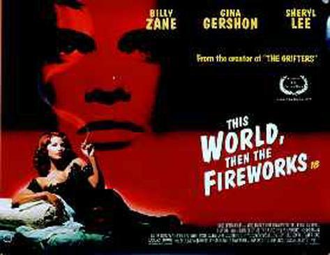This World Then Fireworks Póster original