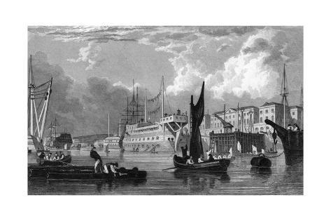 Scene at Devonport Giclee Print
