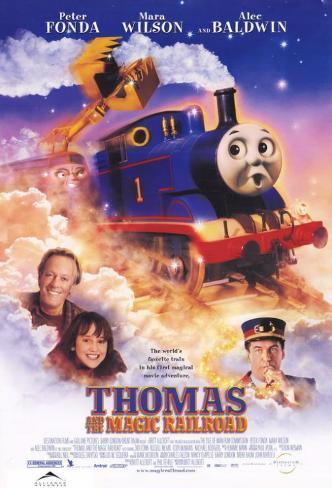 Thomas and the Magic Railroad Masterprint