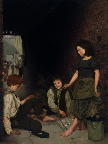 Manchester and Salford Children, 1861 Giclee Print
