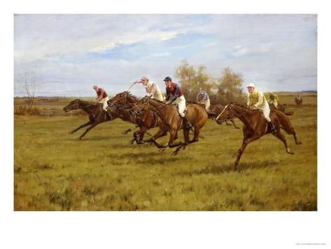 Race to the End Giclee Print