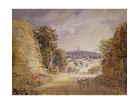 View of Wolverhampton Stretched Canvas Print