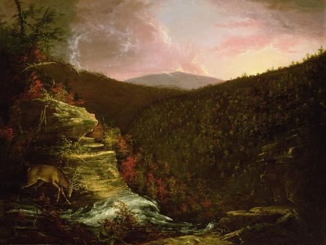 From the Top of Kaaterskill Falls, 1826 Giclee Print