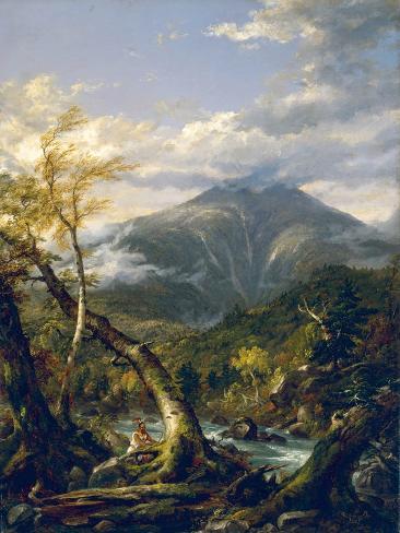 Indian Pass, 1847 Lámina giclée