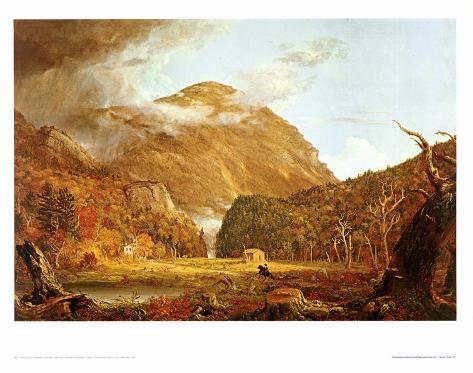 Notch of the White Mountains Art Print