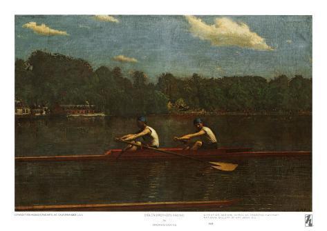 Biglin Brothers Racing Art Print
