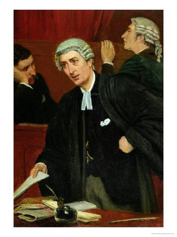 The Barrister Giclee Print