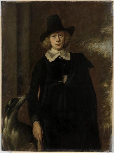 Portrait of a Man. Art Print