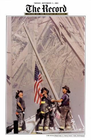 Ground Zero, NYFD Art Print