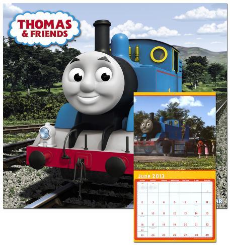 Thomas & Friends - 2013 Wall Calendar Calendars