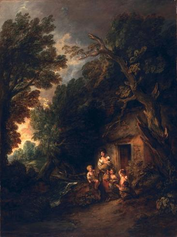 cottage door c 1780 giclee print by thomas gainsborough at rh allposters com au Cottage Front Doors Cottage Front Porch