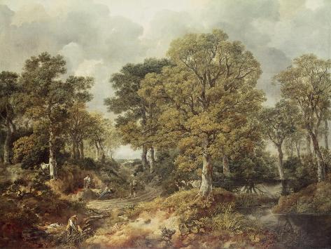Gainsborough's Forest Lámina giclée