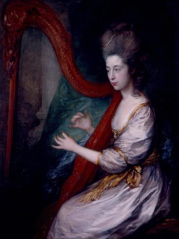 Louisa, Lady Clarges, 1778 Lámina giclée