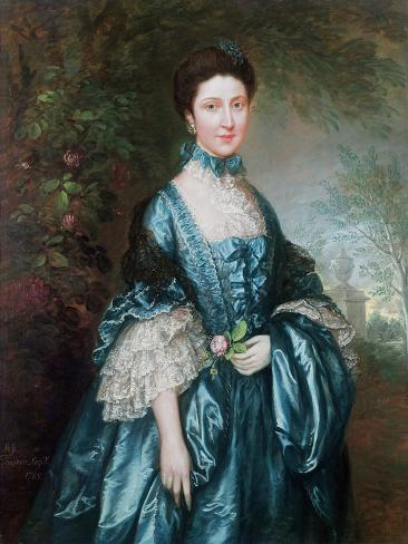 Miss Theodosia Magill, Countess Clanwilliam Giclee Print