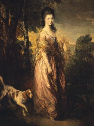 Mrs Lowndes-Stone Lámina giclée