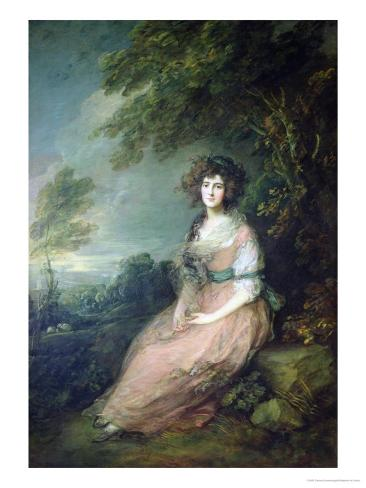 Mrs. Richard Brinsley Sheridan, circa 1785-6 Giclee Print