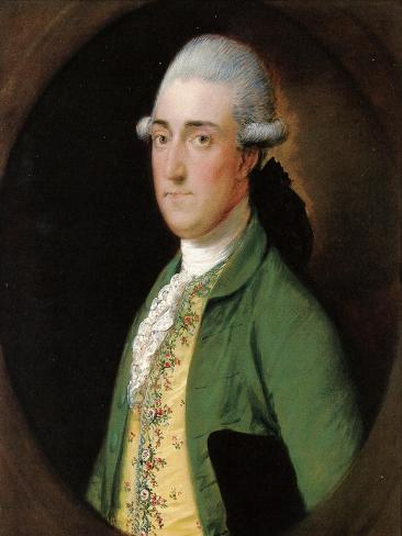 Portrait of Walwyn Graves of Mickleton Manor, Gloucestershire Lámina giclée