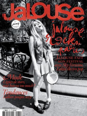 Jalouse, June 2010 - Coco Sumner Art Print