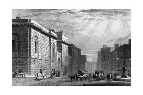 London Newgate Giclee Print