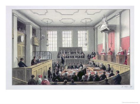 The Old Bailey, London Giclee Print