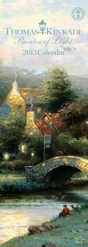 Thomas Kinkade Painter of Light - 2013 Slim Calendar Calendars