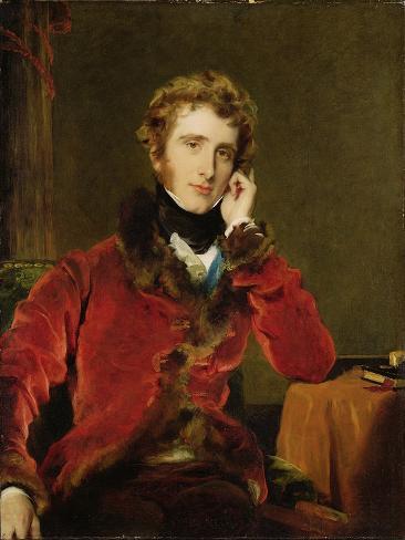 George James Welbore Agar-Ellis, Later 1st Lord Dover, c.1823-24 Lámina giclée