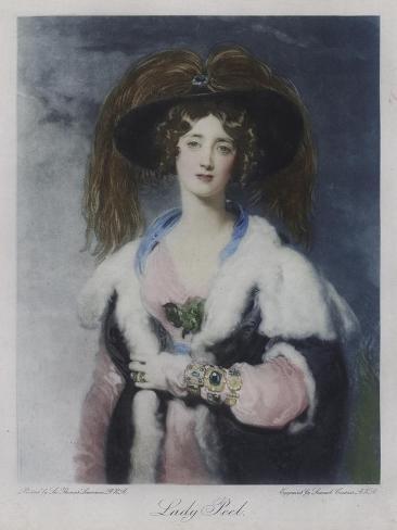 Lady Peel Lámina giclée