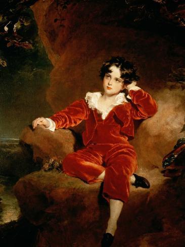 Master Charles William Lambton, 1825 Giclee Print