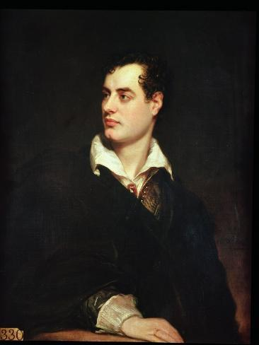 Portrait of Lord Byron Giclee Print