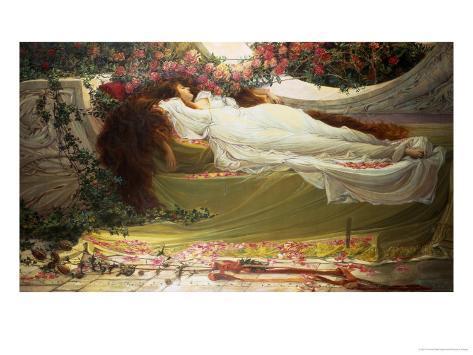 The Sleeping Beauty Giclee Print