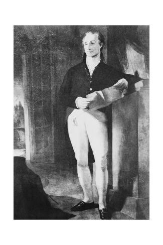 Portrait of James Monroe Lámina giclée