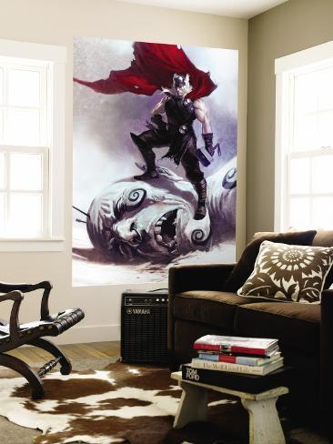 Thor: Ages Of Thunder No.1 Cover: Thor Wall Mural