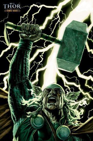 Thor - Comicbook Art Poster
