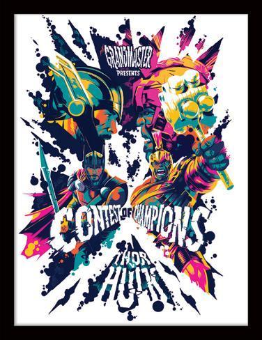 Thor Ragnarok - Grandmaster Presents Collector Print