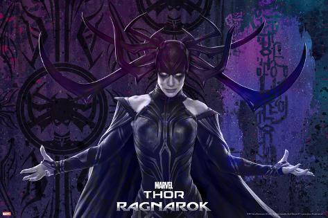 Thor: Ragnarok - Hela Art Print