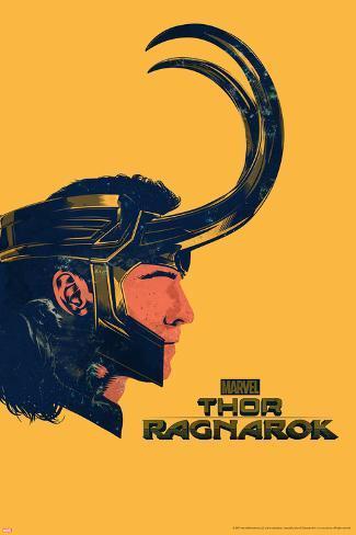Thor: Ragnarok - Loki Art Print