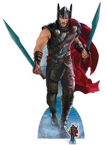 Thor: Ragnarok - Thor Mighty Gladiator - Mini Cutout Included Cardboard Cutouts