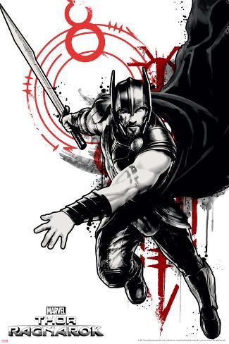 Thor: Ragnarok - Thor Stretched Canvas Print