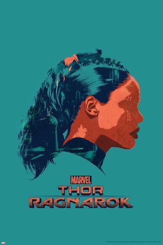 Thor: Ragnarok - Valkyrie Stretched Canvas Print