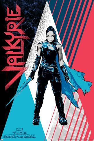 Thor: Ragnarok - Valkyrie Art Print