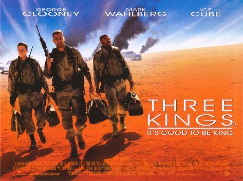 Three Kings, 1999 Stretched Canvas Print