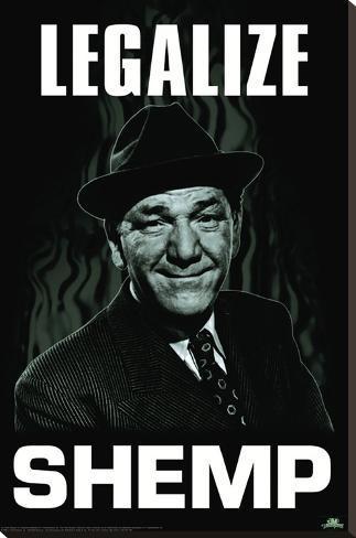 Three Stooges - Legalize Shemp Impressão em tela esticada