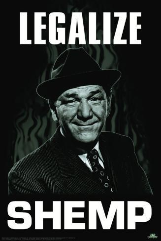 Three Stooges - Legalize Shemp Poster